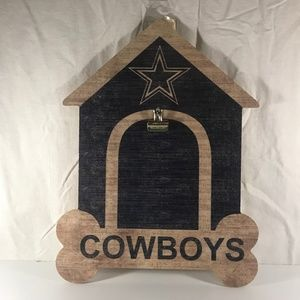 Dallas Cowboys Doghouse Wood Cutout Photo Memo